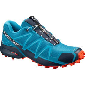 Salomon Speedcross 4 Shoes Herren fjord blue navy blazer cherry tomato